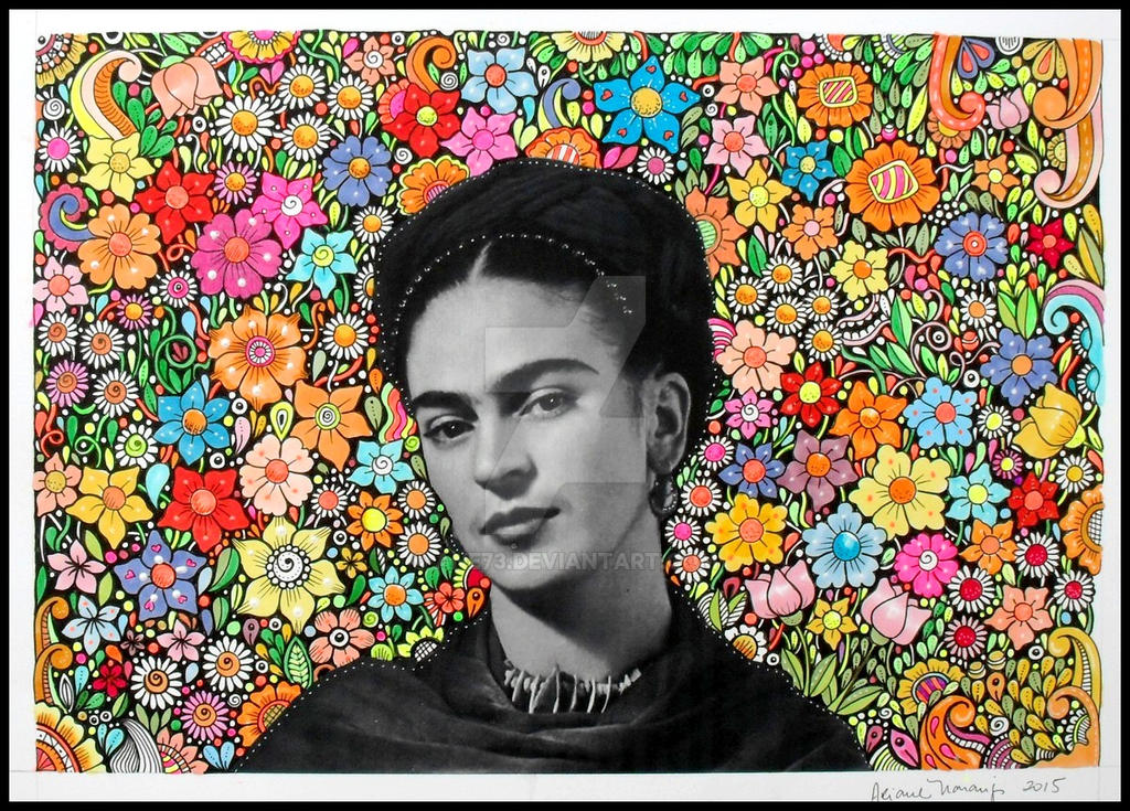 Frida Colorida by Ane73