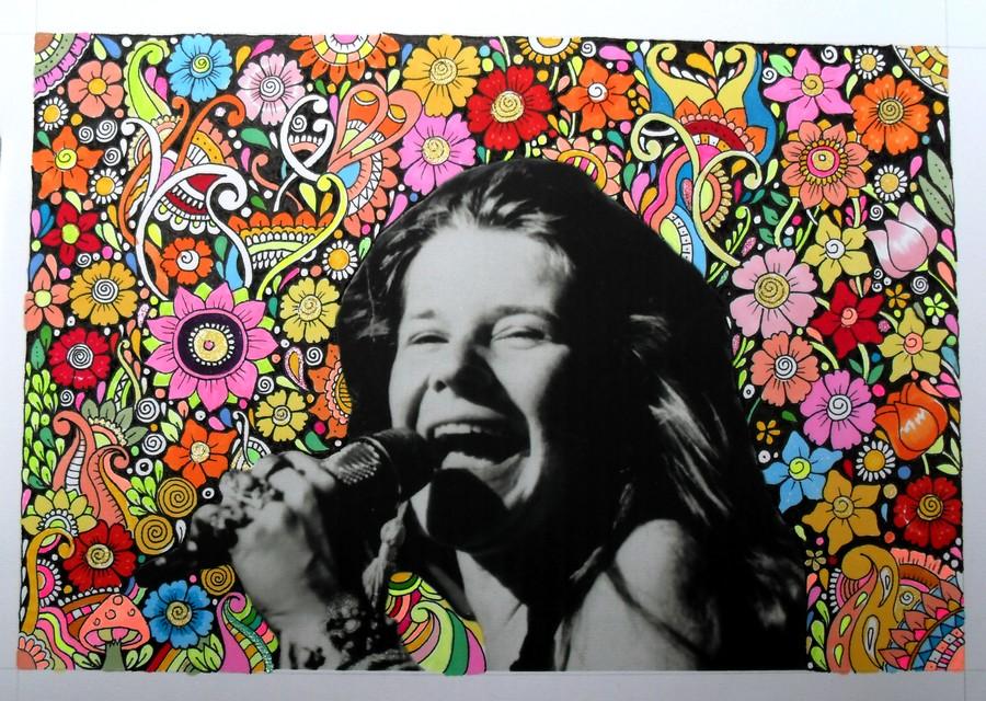 Janis Joplin by Ane73
