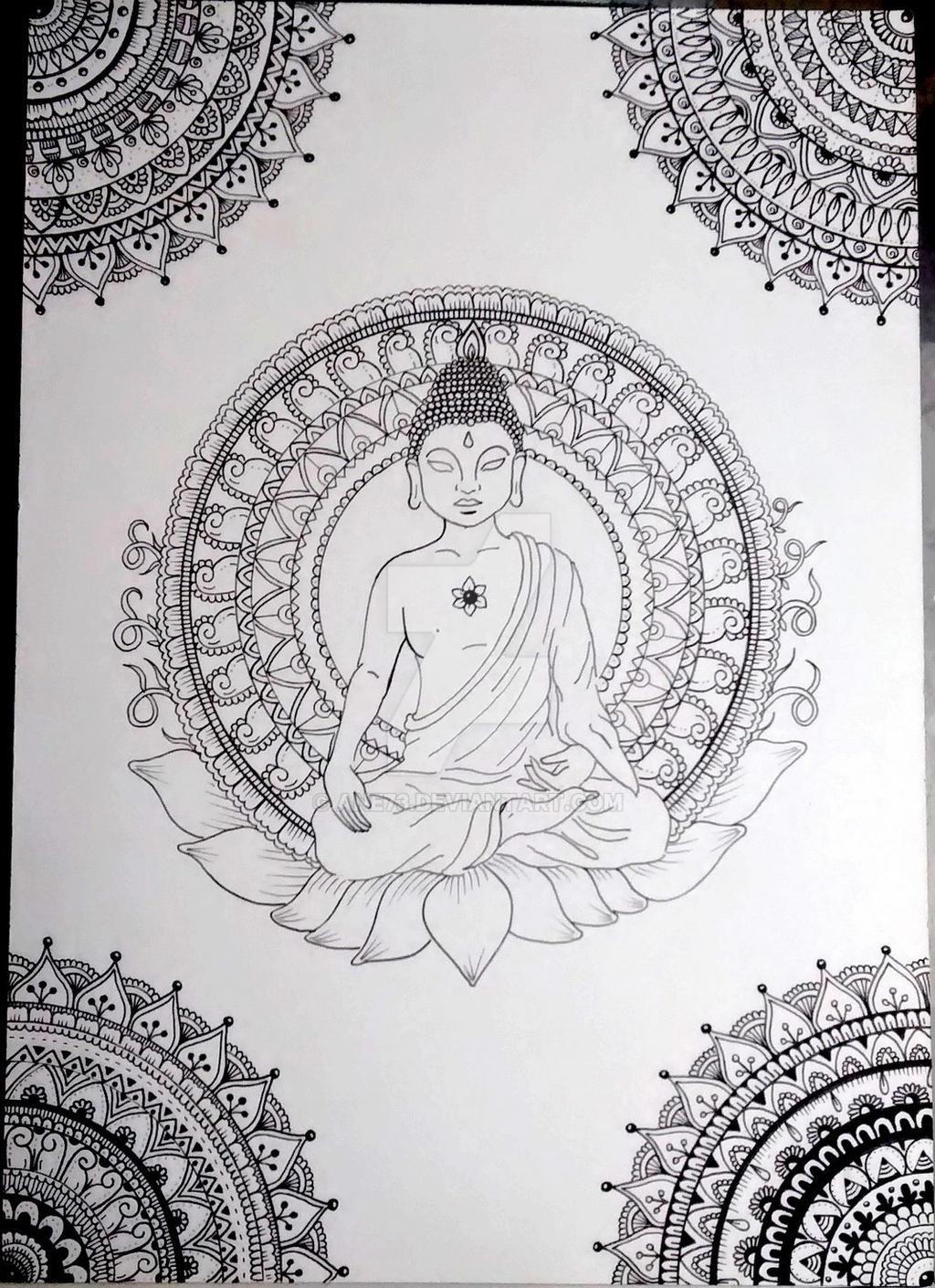 Buddha by Ane73