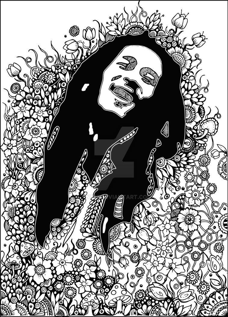 Bob Marley by Ane73