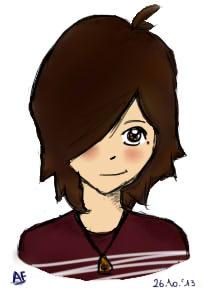 Me (again) by IsisLoveYa