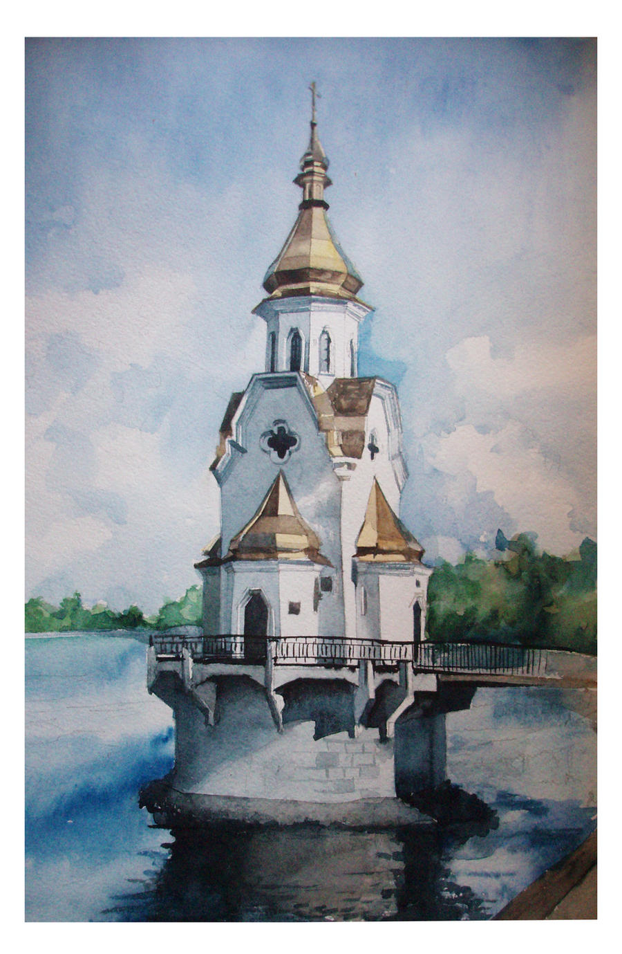 Church of St. Nicholas in the by PartySonya on DeviantArt