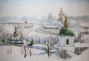 Kiev-Pechersk Lavra by PartySonya