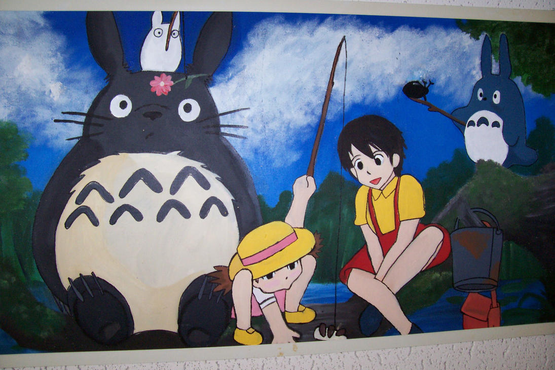 Totoro n friends ceiling tile by stephalou on deviantart totoro n friends ceiling tile by stephalou dailygadgetfo Choice Image