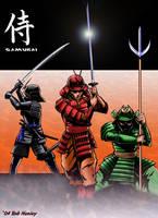 Samurai by henleystudios