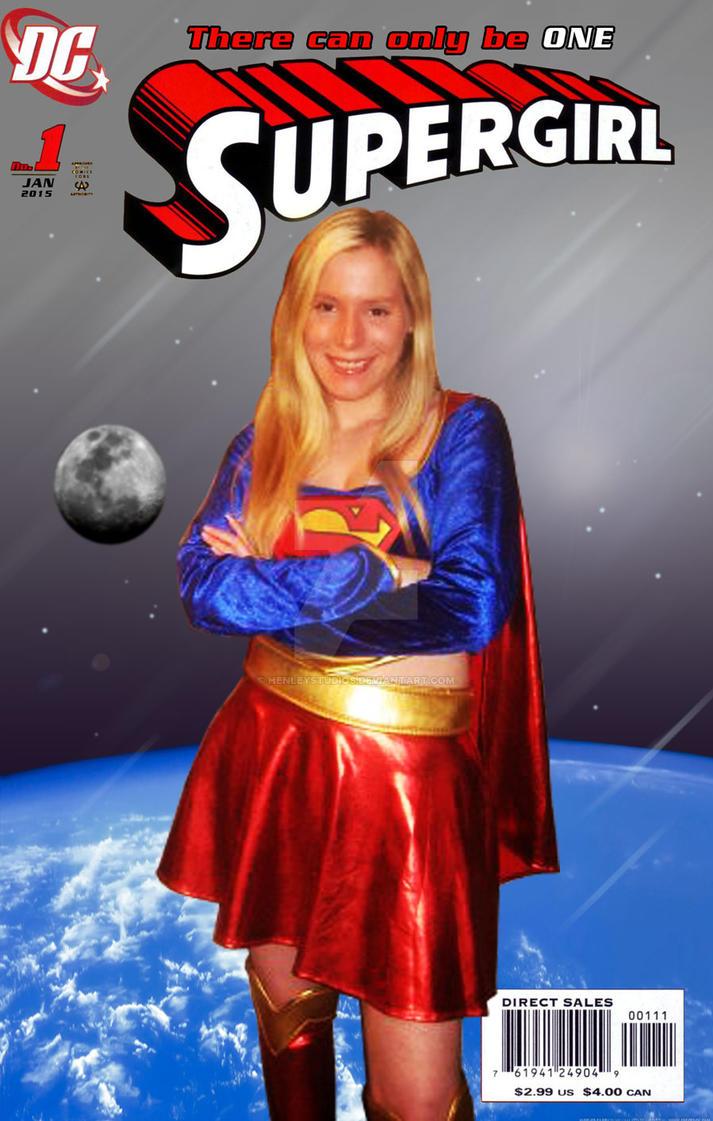Supergirl cover by henleystudios