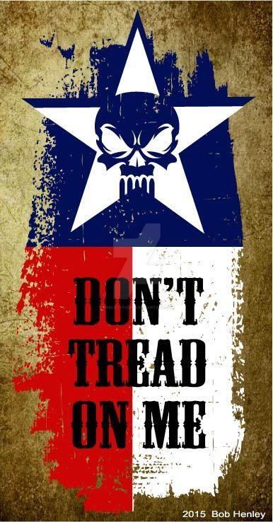 Texas skull by henleystudios