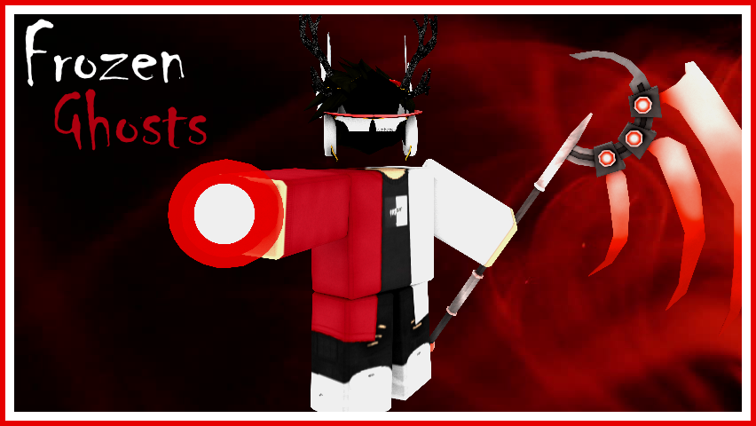Magic Scythe Roblox Red But Frozen By Frozenghosts On Deviantart