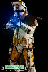Commander Bly - Get the order and execute it