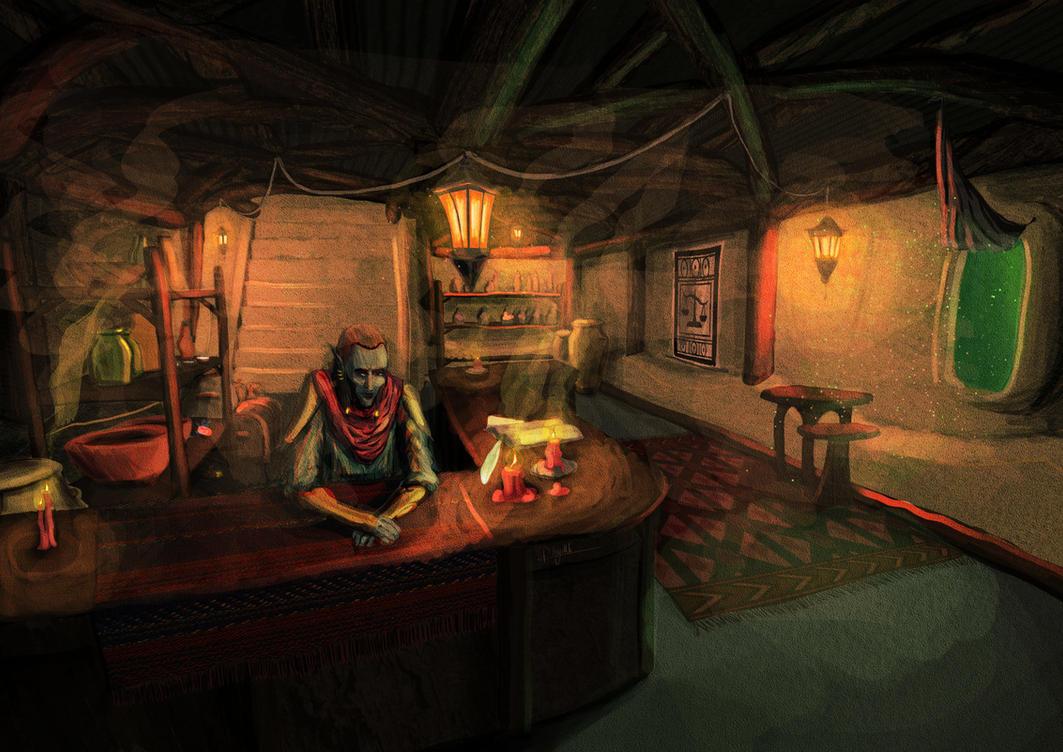 Hlaalu Tavern by CentificGrafics
