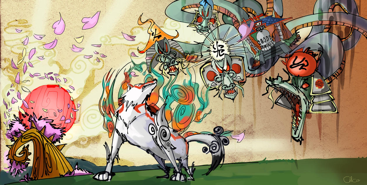 Amaterasu mother of us all by JocelynAda