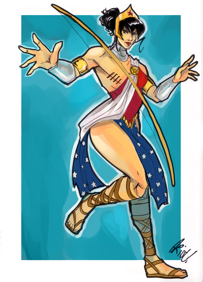 Wonder Woman redesign by JocelynAda