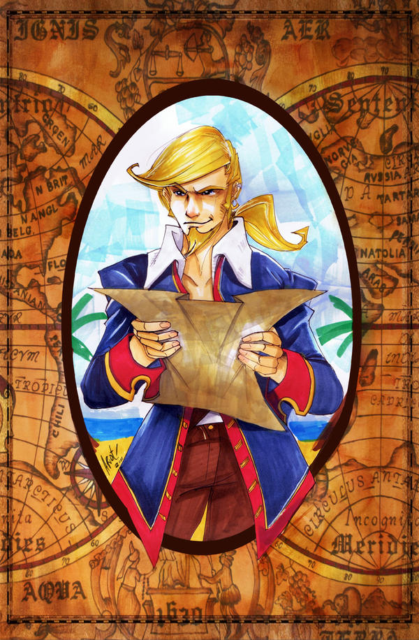 I'm a Mighty Pirate by JocelynAda