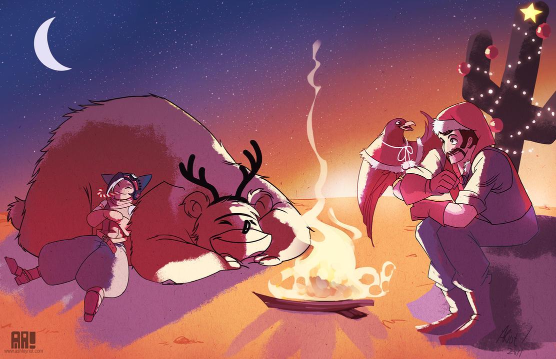 Warm Feliz Navidad by JocelynAda