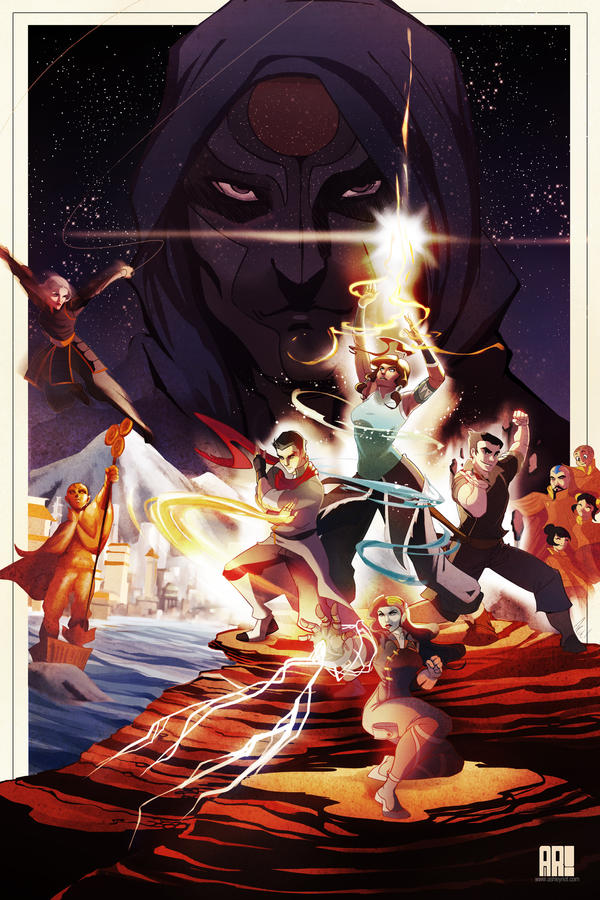 Use the Force, Korra by JocelynAda