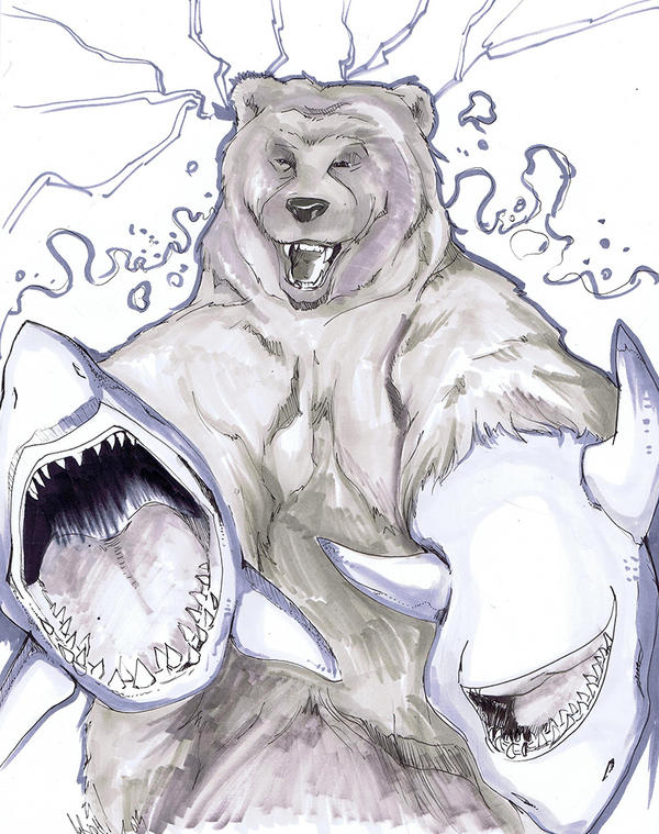 BearShark by JocelynAda