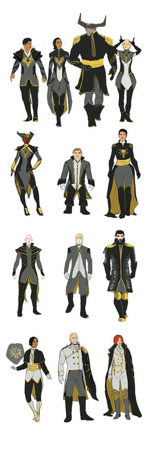 Inquisition Formal Outfits