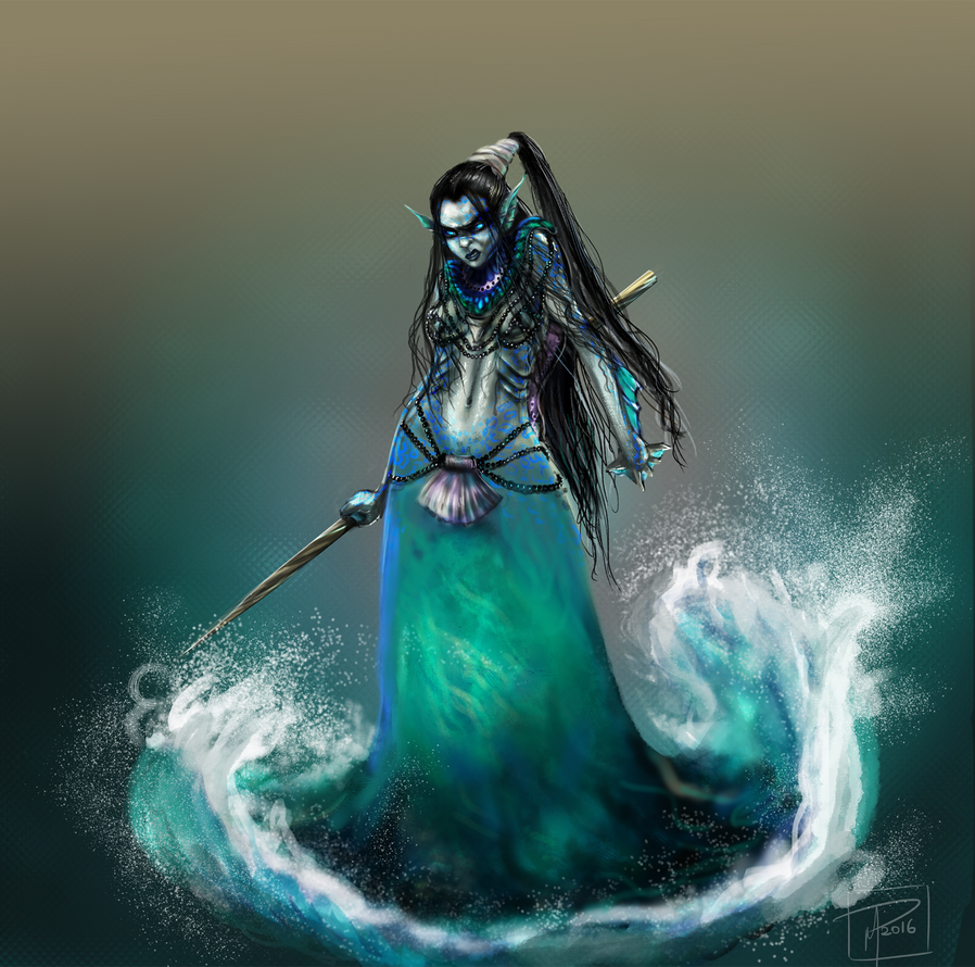 Sea Witch by jadenwithwings