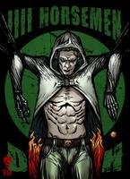 4 Horsemen Death Character by The-Last-Phantom