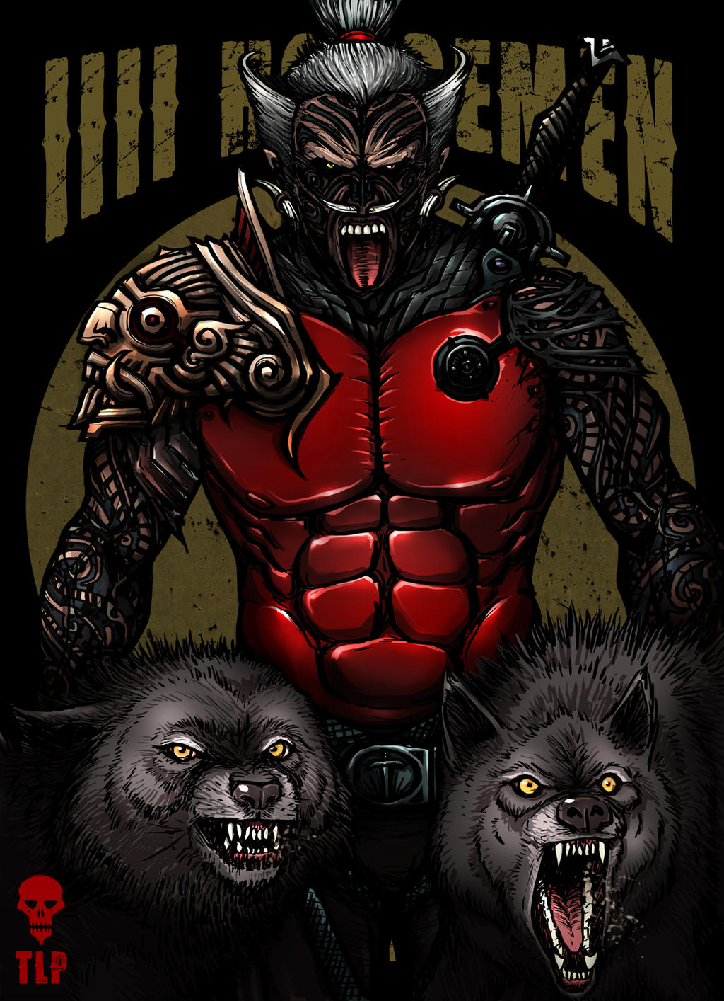 4 Horsemen War Character by The-Last-Phantom