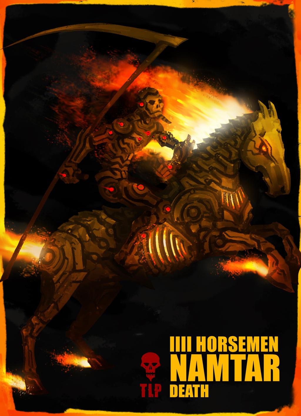 4 Horsemen Death Namtar by The-Last-Phantom