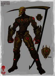 4 Horsemen Death Namtar Armor by The-Last-Phantom