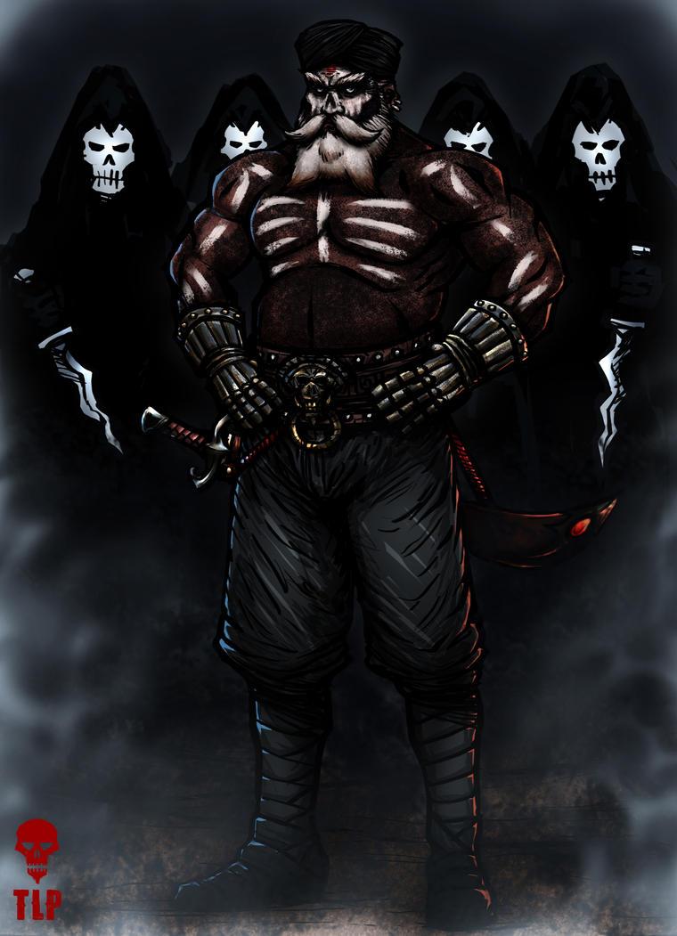 4 Horsemen Skull Warriors by The-Last-Phantom