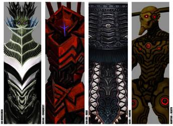 IIII Horsemen of Apocalypse - original concept by The-Last-Phantom