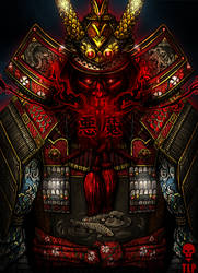 Demon Samurai Armor by The-Last-Phantom