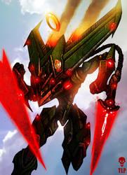 Angel Sky Hunter Power Armor by The-Last-Phantom
