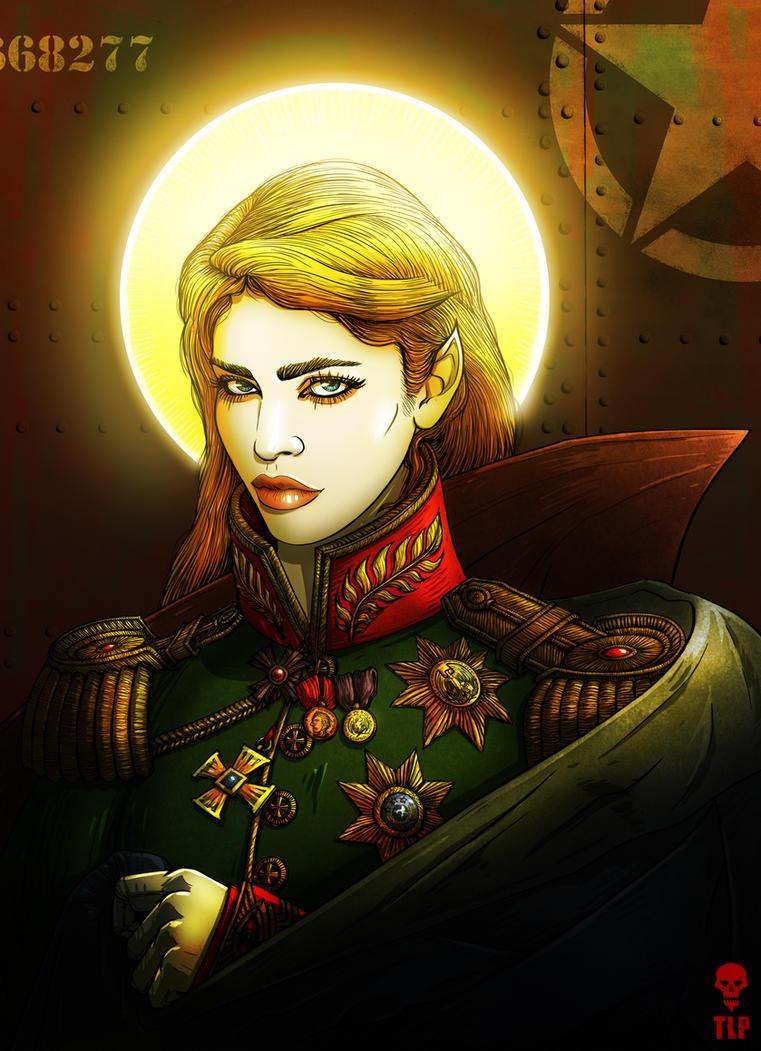 Ramiel - General of The Cherubim Army by The-Last-Phantom