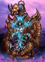 Seraphim Power Armor by The-Last-Phantom
