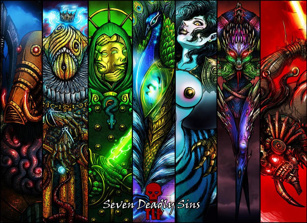 SEVEN DEADLY SINS by The-Last-Phantom