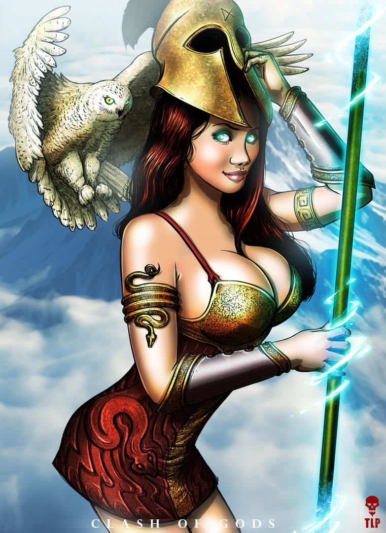 ATHENA - Clash of Gods by The-Last-Phantom