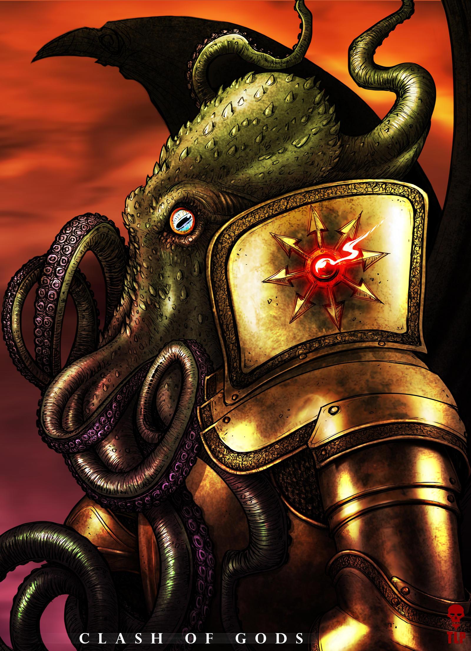 CTHULHU - Clash of Gods by The-Last-Phantom