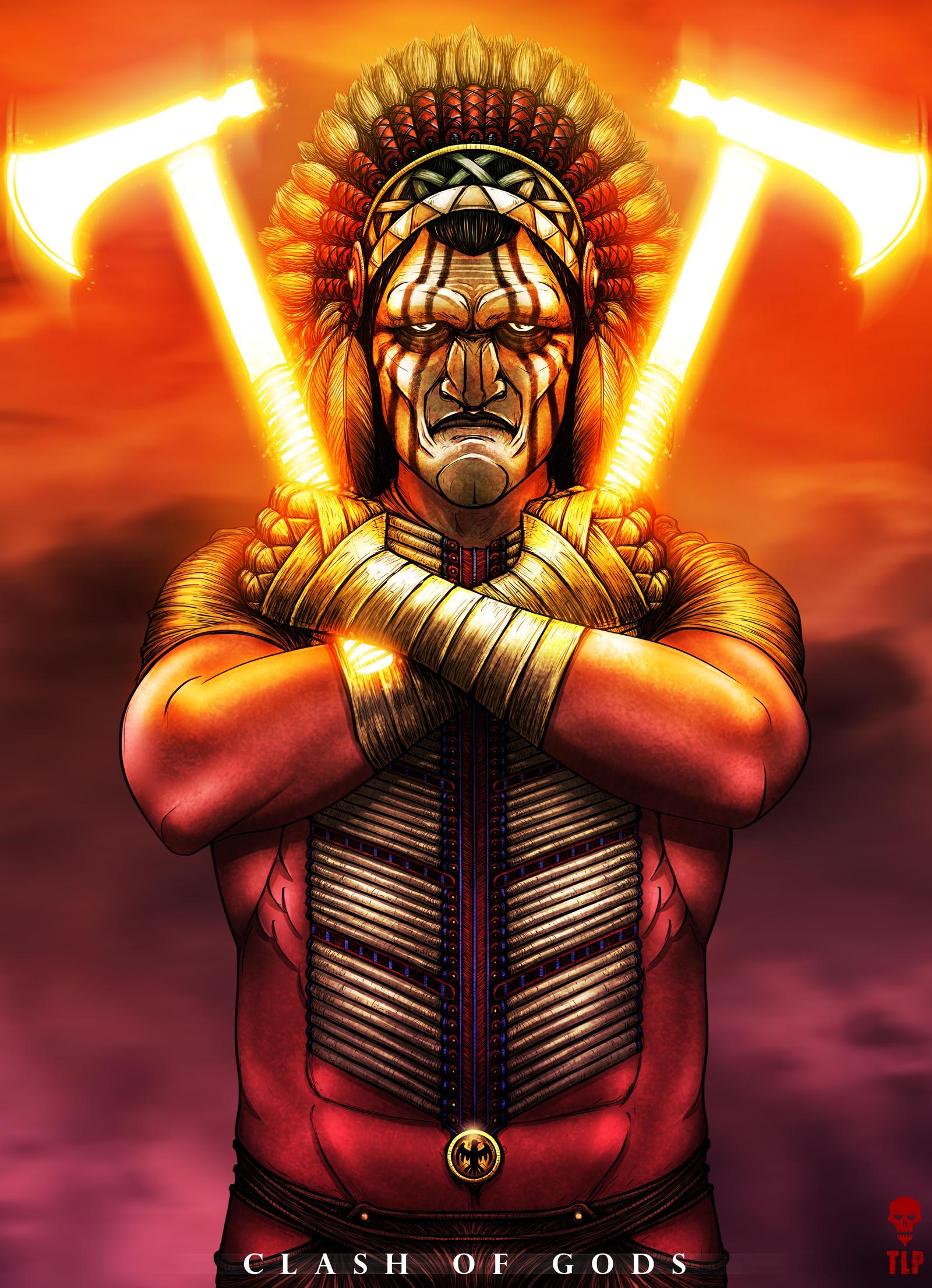 potenza Manitù, il capo del Pantheon Amerindio - by The-Last-Phantom DeviantArt.com © dell'autore