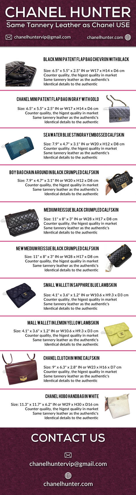 1c8ca1de2951 Buy The Best Chanel Replica Bags Online by chanelhunter