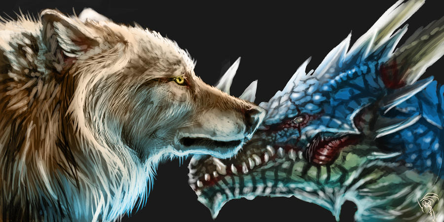 Photo Collection Cool Dragon Wallpaper Wolf
