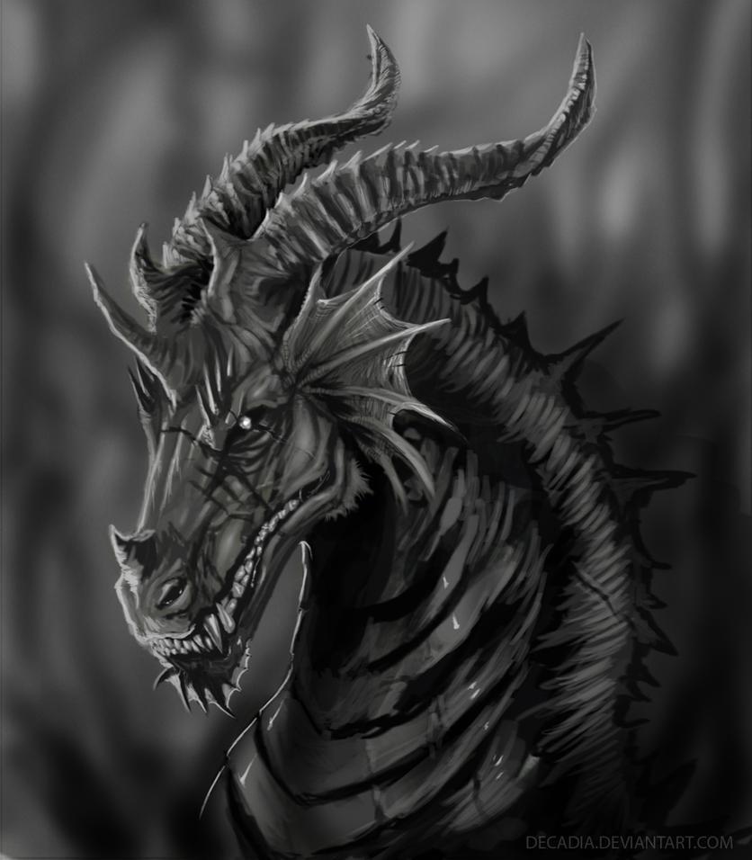 dark dragon by decadia on deviantart. Black Bedroom Furniture Sets. Home Design Ideas
