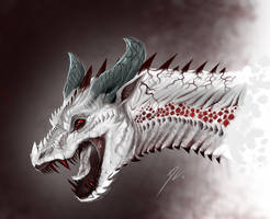 Vampire Dragon (Juvenile) by Decadia
