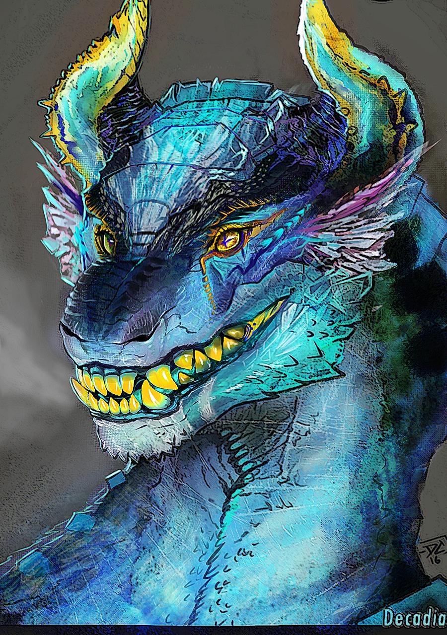 Apatite Dragon by Decadia