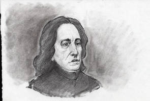 Professor Snape Sketch