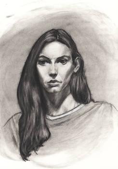 4/9/2016 - 2.5 hour portrait (Maura)