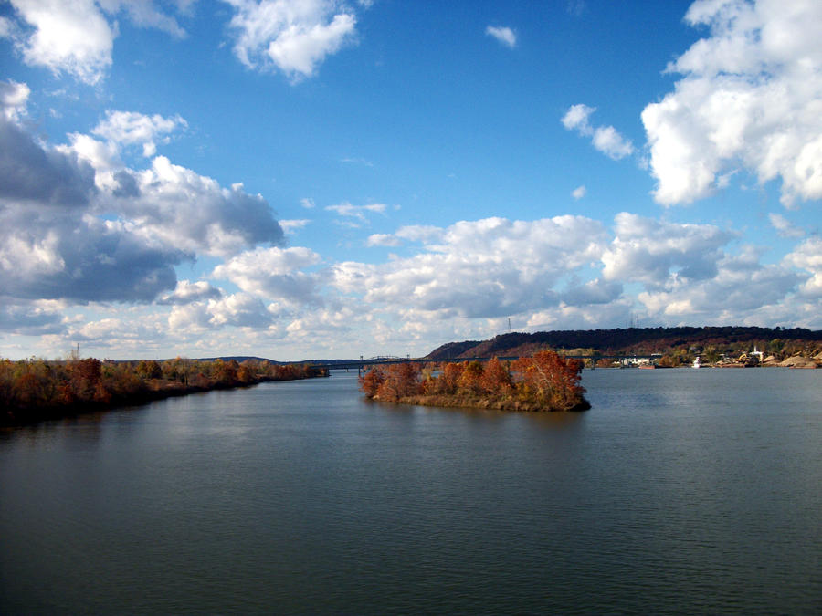 arkansas river by loghry