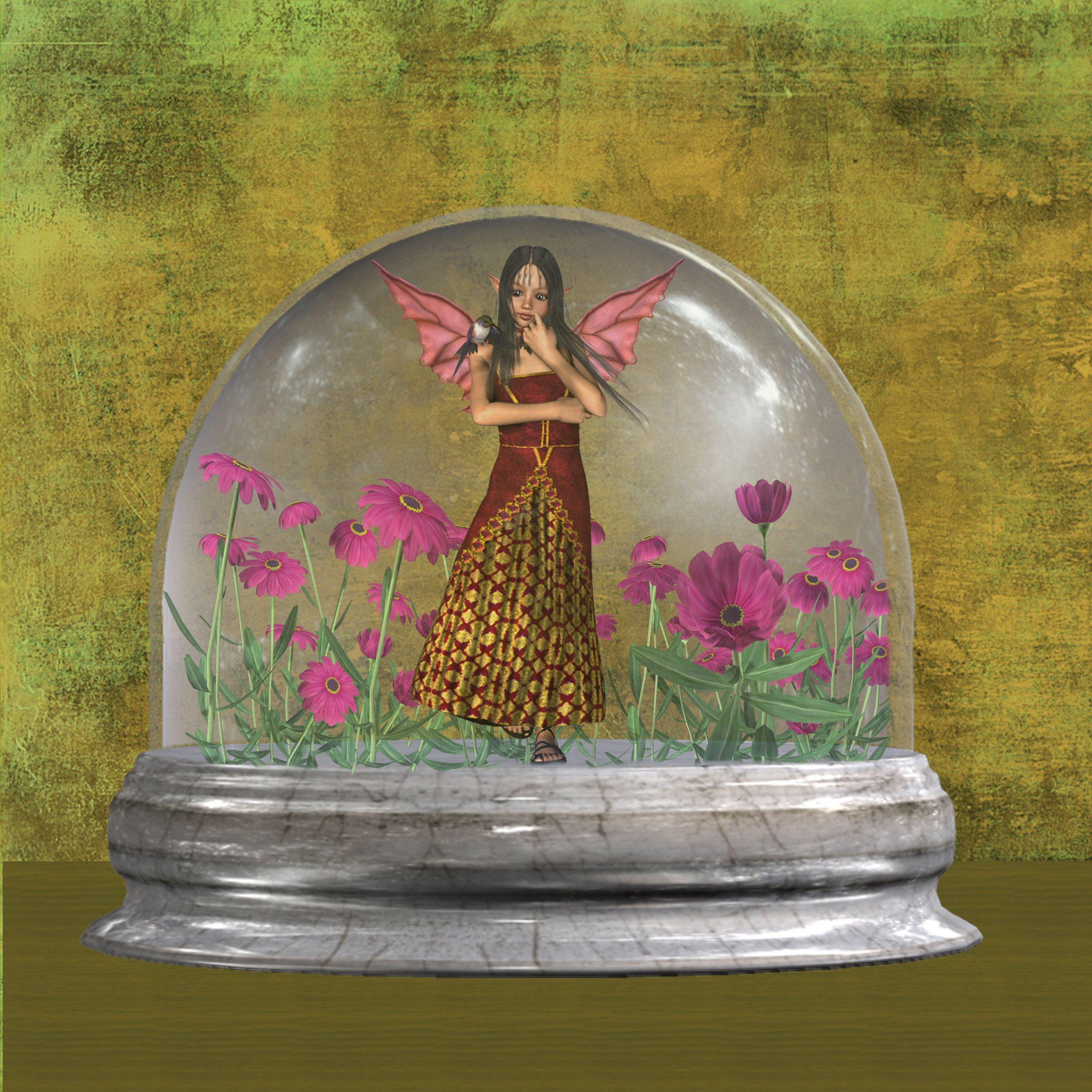 Fairy globe by randthuntley
