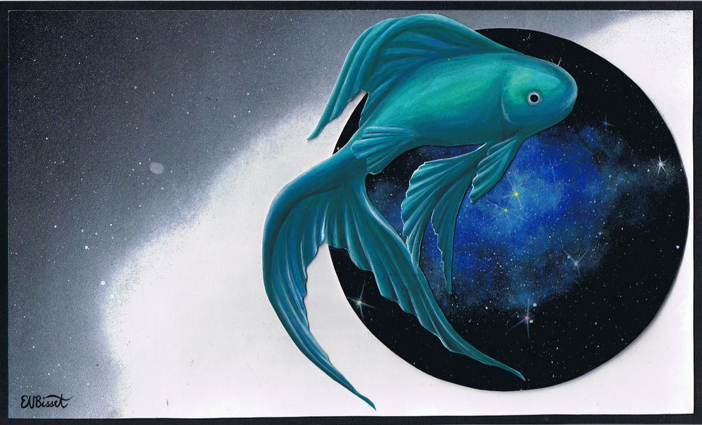 A Fish In My Space Bubble by Erky103