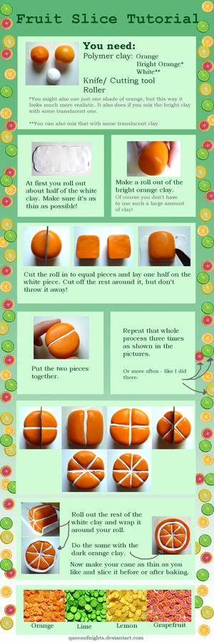 Fruit Slice Tutorial
