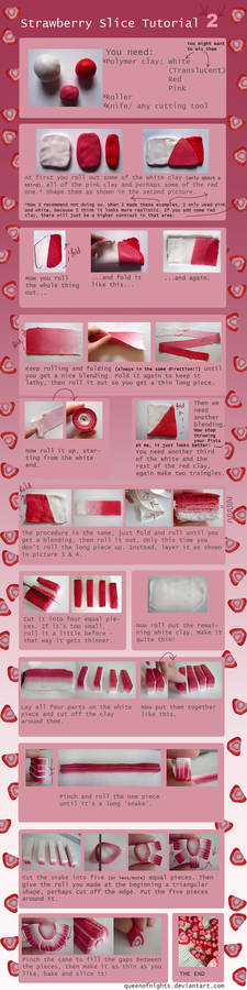 Strawberry Slice Tutorial -2-