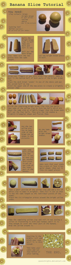 Banana Slice Tutorial