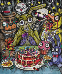 FNaF Help Wanted: Malhare's Pizza party